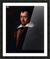 Portrait of the Poet Giambattista Marino Picture Frame print
