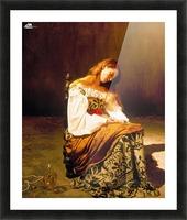 Tilda Swinton Picture Frame print