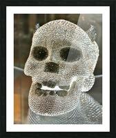 Paris Crystal Skull Picture Frame print