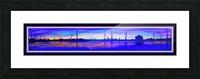 WINTER MARSH IV  -  BLACKLIGHT VERSION Picture Frame print
