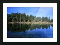 Lake Reflection Picture Frame print