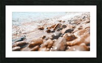 Pebbles and Ripples Picture Frame print
