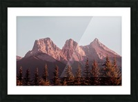 The Three Sisters Picture Frame print