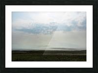 Bright sky in Tuktoyaktuk Picture Frame print