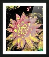 Pink fire lotus  Impression et Cadre photo