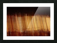 Blurred City Picture Frame print