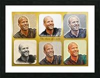 Jason Statham pop star celebrity Picture Frame print