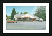 Cross Roads Store- Newtown Scenes 12 X 20  Picture Frame print