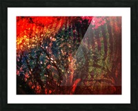 In The Tree Picture Frame print