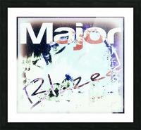 MajorBlazed SnowCO Picture Frame print