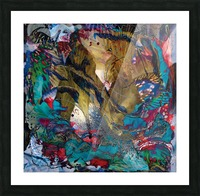 fairy impression abstract Picture Frame print