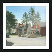 The General Store - Newtown Scenes 16X16 Picture Frame print