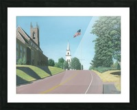 Church Hill Road - Newtown Scenes 16X20 Picture Frame print