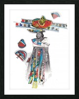 Herero Woman 7 Picture Frame print