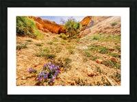 Grotte Sahara Picture Frame print