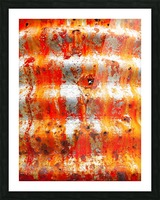 Corrugated Iron Series 13 Picture Frame print