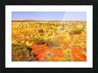 Dune Landscape - Central Australia Picture Frame print