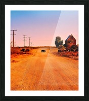 Quirky Sights of the Outback 1 Picture Frame print