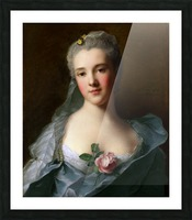Manon Balletti by Jean-Marc Nattier - Old Masters Prints Picture Frame print