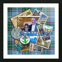 Scotland 2016 Picture Frame print