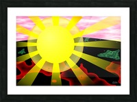 1-My Sunshine Picture Frame print