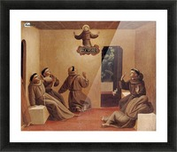 Apparition of St. Francis at Arles Picture Frame print