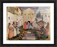 Sepulchring of Saint Cosmas and Saint Damian Picture Frame print