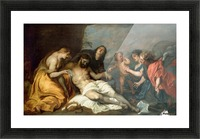Lamentation over the Dead Christ Picture Frame print