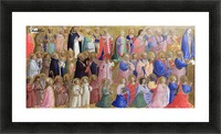 The Virgin Mary with the Apostles and Saints Picture Frame print