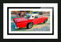1957 FORD THUNDERBIRD - HDR - PAINTING Picture Frame print