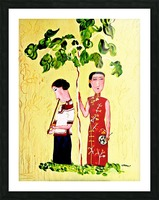 Two Chinese Ladies Picture Frame print
