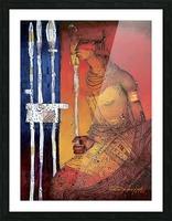 Massai Picture Frame print