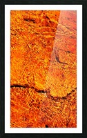 Australia Rocks - Abstract 31 Picture Frame print