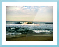 July Surf Picture Frame print