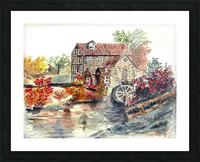 Farm House Picture Frame print