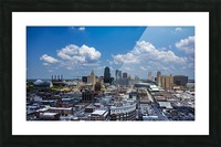 Kansas City Skyline 1 Picture Frame print