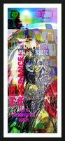 R_PUNKS_SOMEKINDOFMONSTER Picture Frame print
