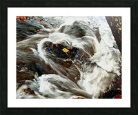 Rushing Stream Picture Frame print
