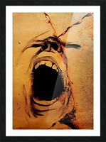 Rage Picture Frame print