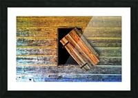Hanging on Picture Frame print