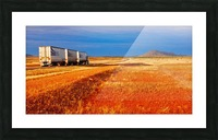 Road Train to Somewhere Picture Frame print