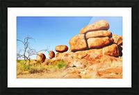 Landscape - Devils Marbles Picture Frame print