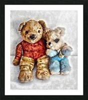 Give Me A Bear Hug Picture Frame print
