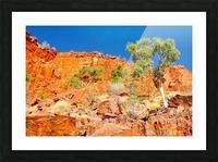 Ormiston Gorge Landscape Picture Frame print