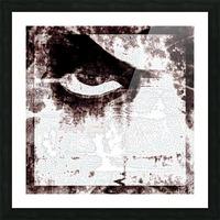 Modern Eye Emboss Picture Frame print