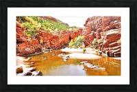 Waterhole - Ormiston Gorge Picture Frame print