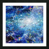 Abstract Canvas Picture Frame print