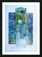masque de lamour Picture Frame print