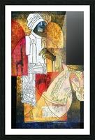cavalier du sud Picture Frame print