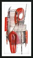 noir_blanc_rouge Picture Frame print
